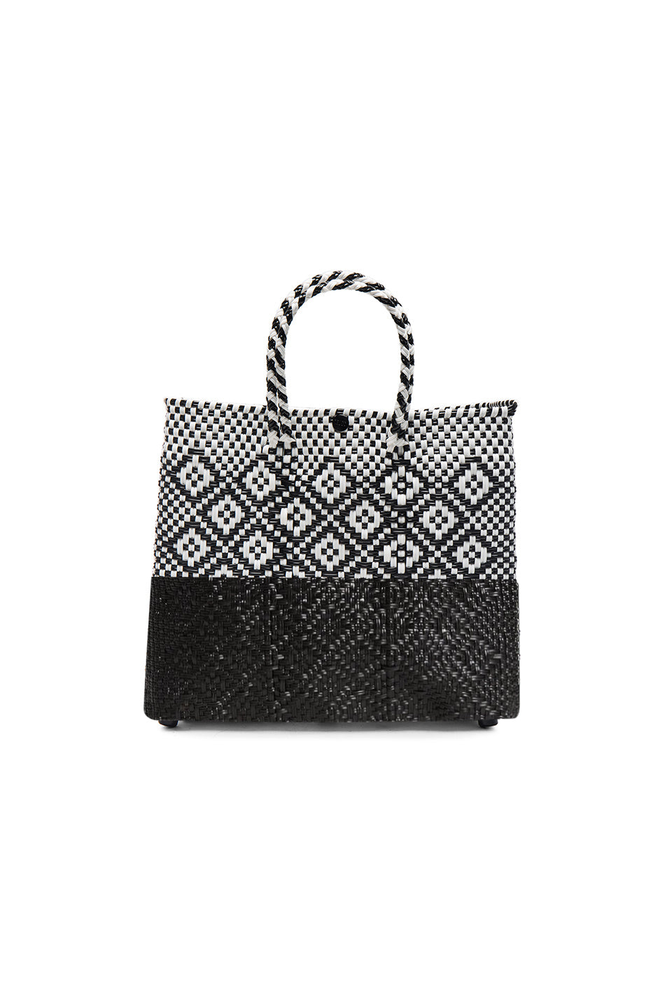 TRUSS Small Crossbody Half Dip Black Rhombus