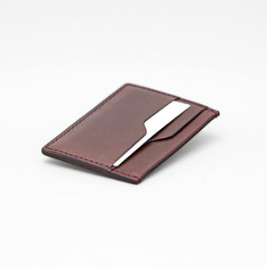 TRIPLE POCKET WALLET IN DARK BROWN