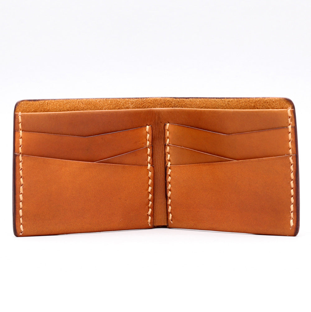 MULTI FOLD WALLET IN LIGHT BROWN