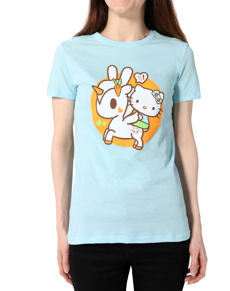 tokidoki x Hello Kitty Hello Usagi Tee front