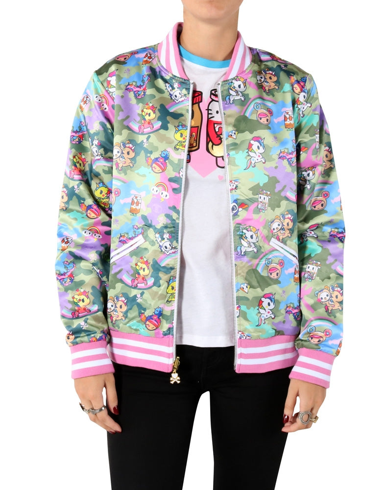 Kawaii Camo Reversible Jacket front