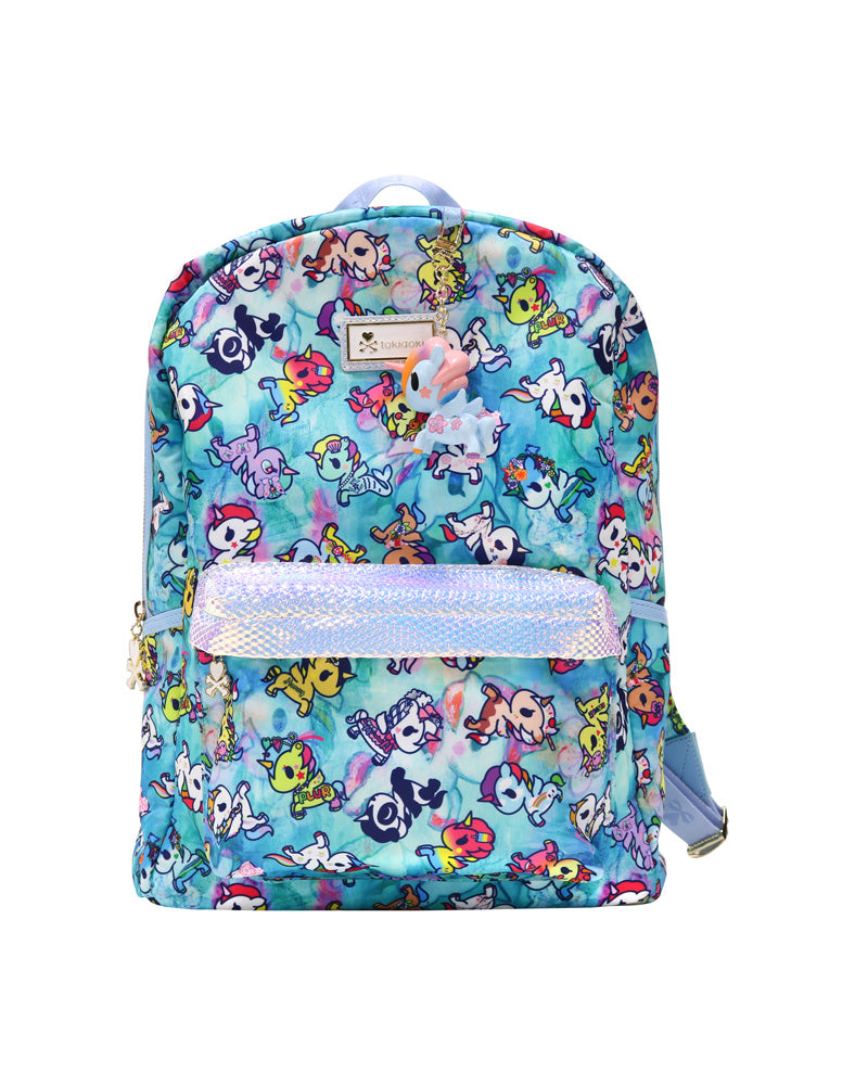 Watercolor Paradise Backpack front