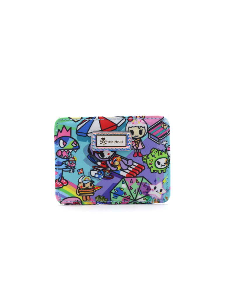 Pool Party Flat Card Holder Front
