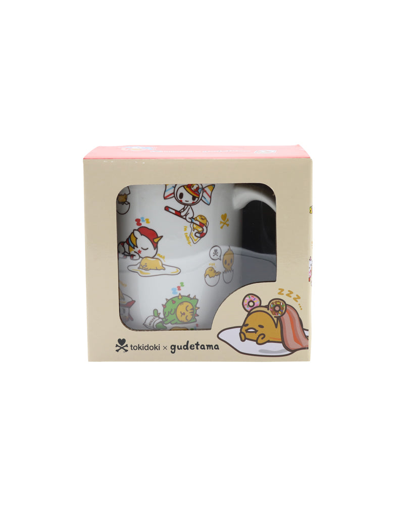 tokidoki x gudetama Ceramic Mug in box