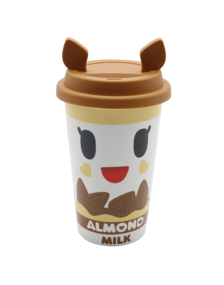 Almondina Moofia Travel Mug Front