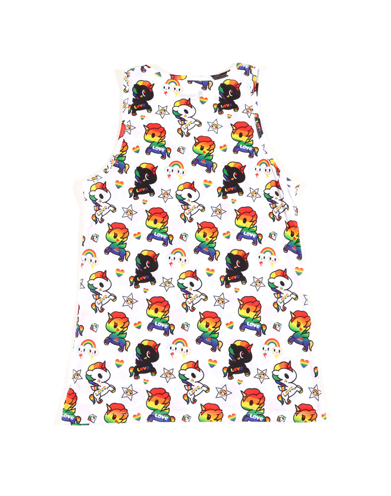 Unicorno Pride Men's Tank back