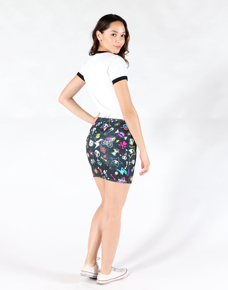Punk Mini Skirt Back 1