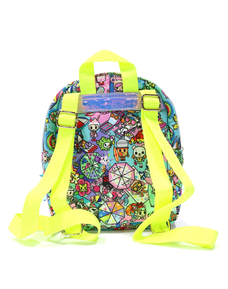 Pool Party Mini Backpack Back