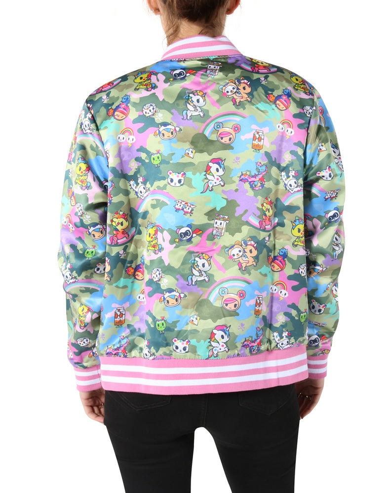 Kawaii Camo Reversible Jacket back