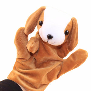 Larrikin Puppets | 1 PC Baby Kids Child Animal Dog Finger Puppet Plush Baby Favor Dolls Educational Hand Toy Infant Kids Toy Plush Toys