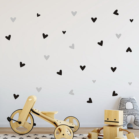 Passion For Romance | 22PCS Love Heart Home Decor Wall Sticker Decal Bedroom Vinyl Art Mural