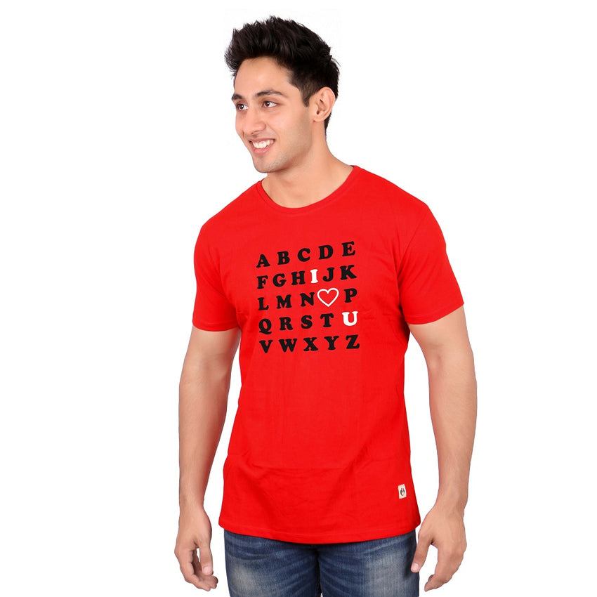 ABCD Crossword Couple Tees