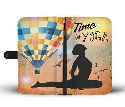 Time for Yoga Wallet Case 2
