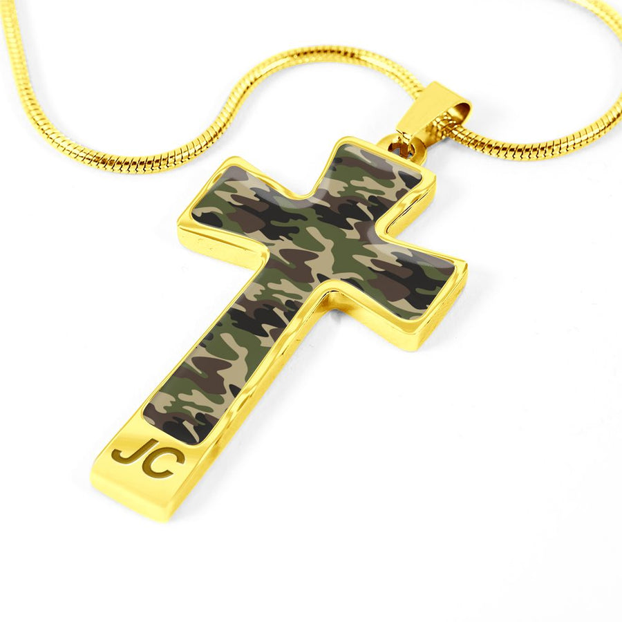 Cross in Camo