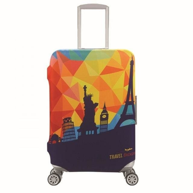 SAFEBET Brand Elastic Luggage Protective Cover For 19-32 inch Trolley Suitcase Protect Dust Bag 7 / S