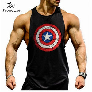 Seven Joe. Musculation Vest Bodybuilding Clothing And Fitness Men Undershirt Solid Tank Tops Blank