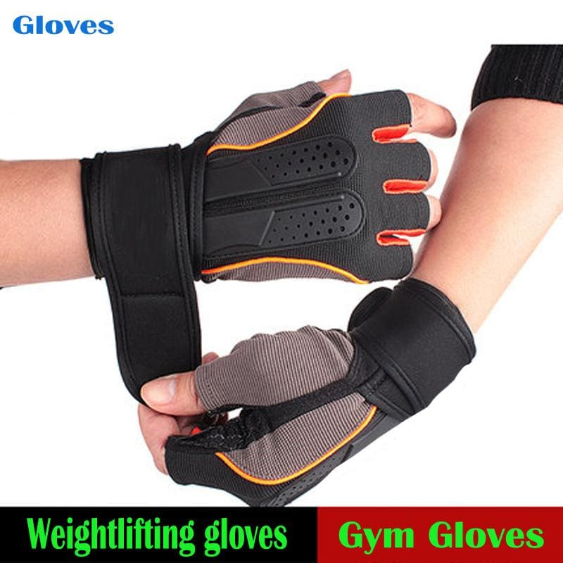 Tactical Sports Fitness Weight Lifting Gym Gloves Training Fitness Bodybuilding Workout Wrist Wrap