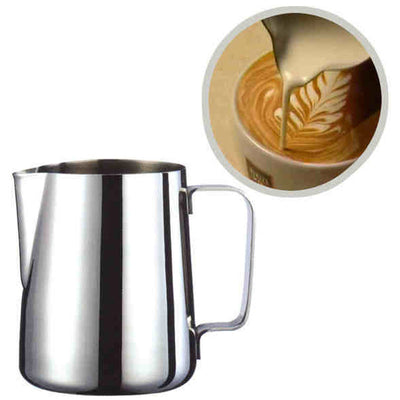 Stainless Steel Milk frothing jug / Espresso Coffee Pitcher - Kitchendayz