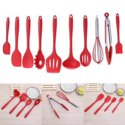 10Pcs/set Silicone Nonstick kitchenware Baking Cookware - Kitchendayz