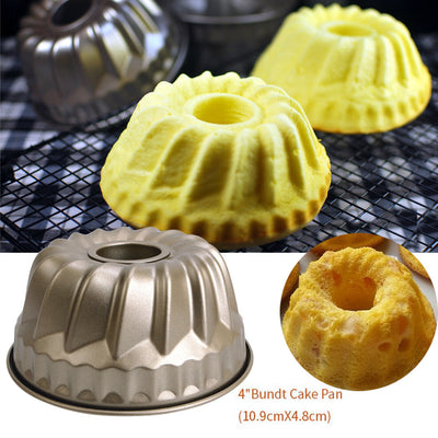 Nonstick Pineapple Chiffon Bakeware Mold Carbon Steel Fluted Cake Baking Pan - Kitchendayz