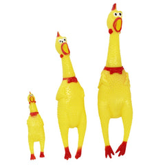 Screaming Chicken Pet Toy