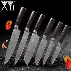 Very High Quality Stainless Steel Kitchen Knife Set