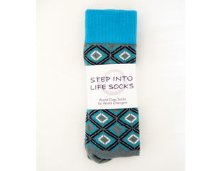 American Made - Courage by Step Into Life Socks