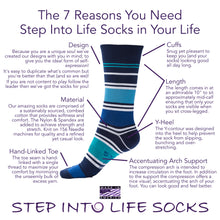 American Made - Honor by Step Into Life Socks