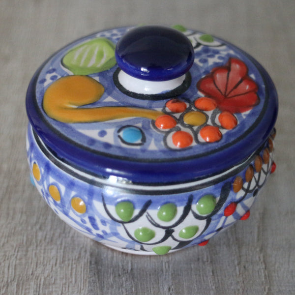 Hand painted talavera pot