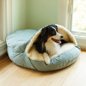 Reserve-TREKK Luxury Cozy Cave Dog Bed