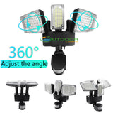 178 LEDs 3 turnable heads outdoor Solar Powered garden lights/pathway lights