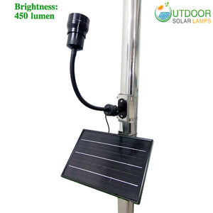 High End CREE LED Solar Flagpole Light