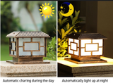 Outdoor Solar Pillar Lights