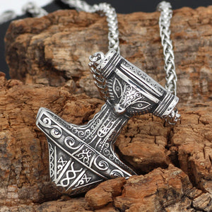 Viking Necklace With Nordic Pendant