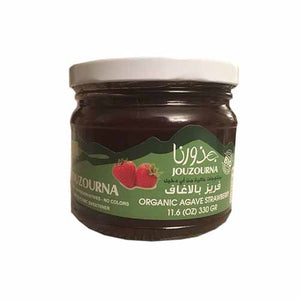 Jouzourna Organic Agave Strawberry Jam
