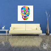 "Skulpta Canvas Print 30x30cm / 12x12"" / Rolled Canvas ・""Rich Skull""・"