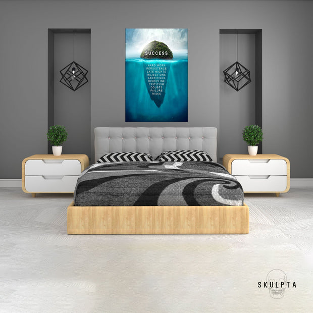 "Skulpta Canvas Print 30x45cm / 12x18"" / Rolled Canvas ・""SUCCESS Island""・"