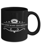 Perfect Christmas Holiday Gift Royal Coffee Mug For Your Favorite Grandma!
