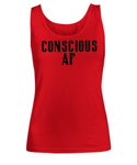 Funny Spiritual AF Tank Top- Consciousness Funny Higher Awareness Tank Top for Women - GuysandGirlsGeneral