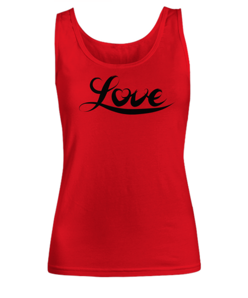 I Choose Love Ladies Tank Top - Choose Love - Inspirational Love Gifts for Women - GuysandGirlsGeneral