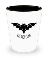 Black Bat Shot Crazy Halloween Adult Shot Glass! - GuysandGirlsGeneral
