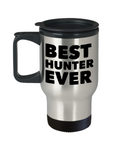 Best Hunter Ever Travel Coffee Mug - GuysandGirlsGeneral
