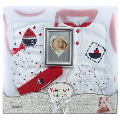 6 Piece Baby Gift Set