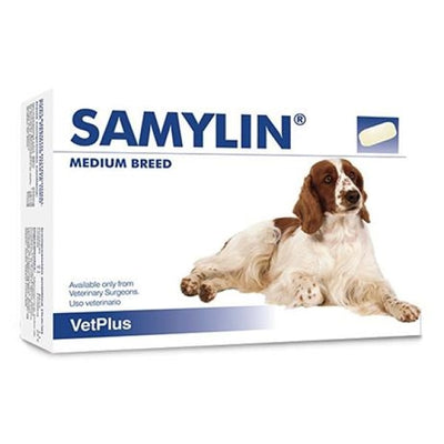 Samylin Tablets - 30 Pack Pet Health