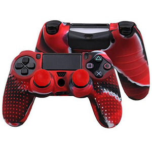 Silicon Anti Slip Grip Case Cover Skin for PS4 Controller