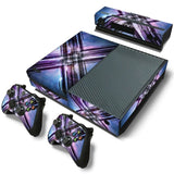 X men Style Skin Decal Sticker with 2 Pcs Controller Sticker for Xbox One Console