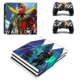 Destiny 2 Warlock Style PS4 Pro Console Sticker Skin Set
