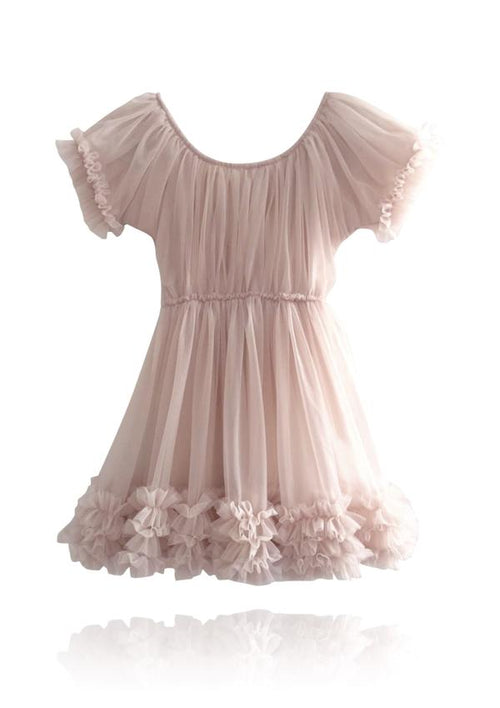 FRILLY DRESS - BALLET PINK