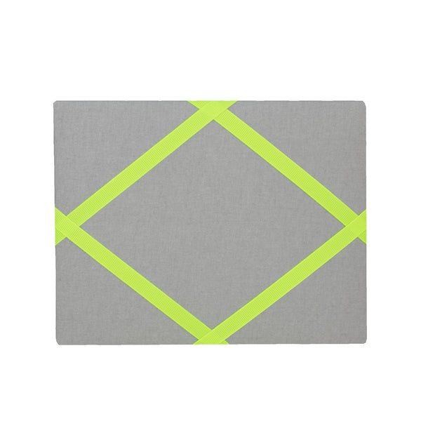 Silver / Neon Yellow Magnetic Photo Frame