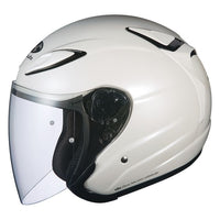 KABUTO AVAND2 open face motorcycle helmet pearl white